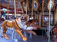 Carousel at Comerica Park, Detroit, MI