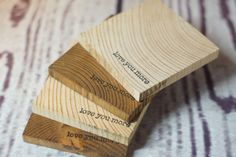4 Reclaimed Wood Coasters, Love You More, rustic wood coasters, pallet wood, wedding gift, couple gift, christmas gift, for her, under 25