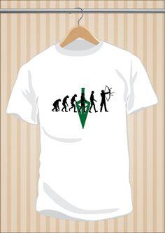 Camiseta #Arrow #OliverQueen #TShirt #Tee #Art #Design con envío #gratis sólo en www.UppStudio.com