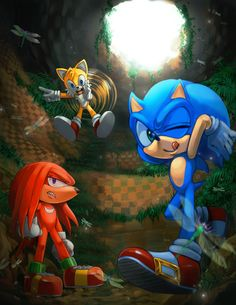 Sonic Tails And Knuckles