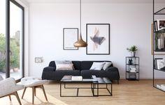 Gartenhaus   Berlin Friedrichshain | Wohnzimmer, Wohnbereich, Sofa, Bilder  über Sofa,