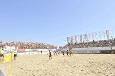 #SerieAEnel:Una Beach Arena stracolma di gente, uno spettacolo nello spettacolo