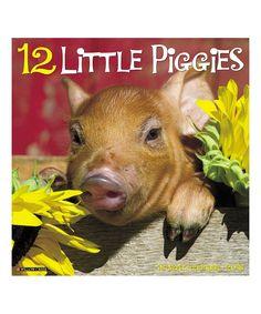 '12 Little Piggies' 2018 Wall Calendar