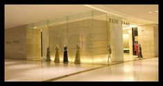 Elie saab store inside The Dubai Mall.