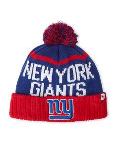 '47 Brand New York Giants Pom-Pom Linesman Knit Hat
