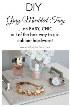 DIY Tray Tutorial Us