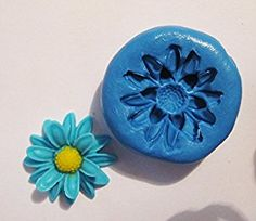 Flower Flexible Food Grade Silicone Push Mold for Polymer Clay on Amazon