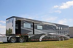 Image result for Rivenlee 3 story horse trailers