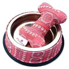 Dining Bowl With A Bone Toy by Puchi