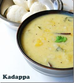 Kumbakonam Kadappa Recipe - A flavourful south Indian side dish for idli dosa with flavourful ingredients . Step by step recipe and full video recipe Veg Recipes, Curry Recipes, Indian Food Recipes, Cooking Recipes, Kerala Recipes, Vegetarian Cooking, Vegetarian Recipes, Dhal Recipe, Indian Side Dishes