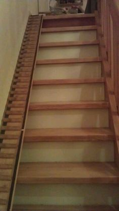 Stairs for the dog! :-)                                                                                                                                                                                 More