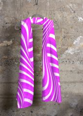 Purple Ocean Stripe Chic Cashmere Modal Scarf: What a beautiful product!