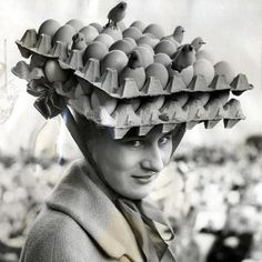 @madame.e.vintage - Instagram:「Happy Easter! Some great Easter bonnets including one being worn by Liz Taylor. #easter #easterbonnet #easterhat #eastertradition」