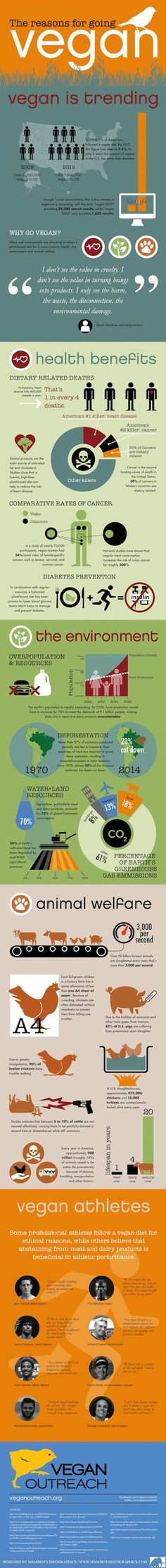 Great infographic from veganoutreach.org.  #veganrestaurantreviews