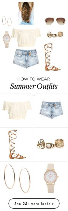"Collection Of Summer Styles ""Summer"" by daisygirlsyd on Polyvore featuring American Eagle Outfitters, GUESS, Ray-Ban and Michael Kors - #Outfits https://fashioninspire.net/fashion/outfits/summer-outfits-summer-by-daisygirlsyd-on-polyvore-featuring-american-eagle-outfitters-guess/"