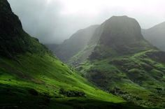 have a beautiful picture of glencoe