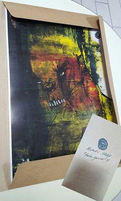 """I scare"" Artprint"
