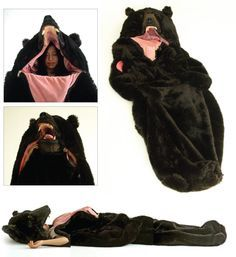 Resultado de imagen para saco de dormir de oso