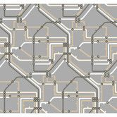 Found it at AllModern - Risky Business Take The A Train Prepasted Wallpaper