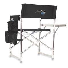 The Orlando Magic Sports Chair with folding side table