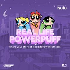 Real Life Powerpuff Girls Contest & Hulu #Giveaway