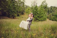 wedding first look - mountain field, lifted up - marriage, love, husband and wife - Jayne B Photography