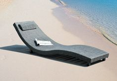Charcoal Lion Loungers, Set of 2 #summer #seaside #vacation #furniture