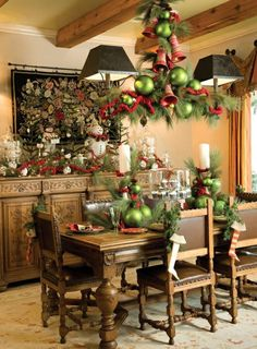 decorating kitchen island lighting pictures kitchen christmas decor decorating ideas christmas 609x827 european kitchen cabinets design - How To Decorate Your Kitchen Island For Christmas