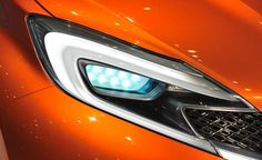 Nissan Invitation concept headlight