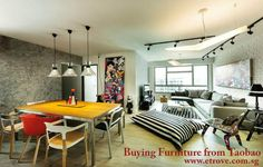 Just Buying furniture from Taobao at affordable to your home, Offices and many other places. You can Purchase Designing furniture from Taobao easily with Etrove shipping agent. Mismatched Dining Chairs, Interior Decorating, Interior Design, Flat Interior, Home Improvement Projects, Interior Inspiration, Interior Ideas, Home And Living, Living Spaces