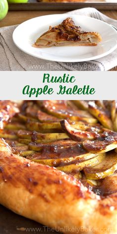 This delightfully rustic apple galette recipe is so easy to pull off. Have delicious apple tart full of the warm, cozy flavours of fall in no time.