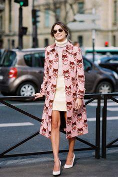 Paris Fashion Week AW 2014....Helena