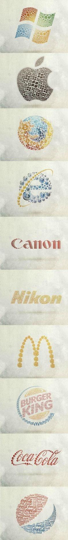 Logos opuestos.
