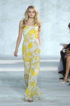 Dianne Von Furstenberg  - All The Gowns From Spring 2015 - NYFW - Elle