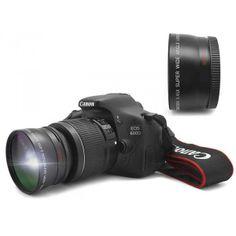 Objetivo 58 mm Gran Angular y Macro compatible #Canon