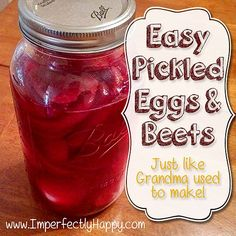 How To Make Pickled Eggs | How To Cook Like Your ...