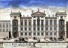 Clam-Gallas Palace, Prague, begun by Fischer von Erlach Baroque Architecture, Architecture Design, Environmental Design, Postmodernism, Clams, Wikimedia Commons, 18th Century, Facade, Skyscraper