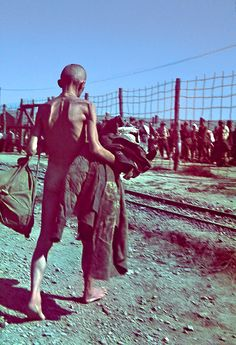 In the summer of 1942, Soviet prisoners of war are selected from the prisoner-of-war camp Zeithain to perform forced labor in Belgian mines.
