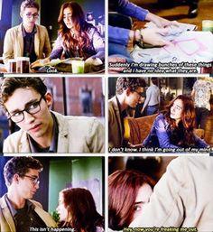 The Mortal Instruments: City of Bones. #Clary #Simon #coffeeshop