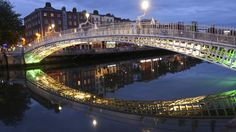 Take a night stroll across Dublin's Liffey Bridge aka the Ha'penny Bridge. More than 27,000 people walk cross over the bridge each day. The pedestrian bridge was built over the River Liffey in 1816. Aside for Dublin and its tourist attractions, we recommend you visit Cork and Belfast, two of Ireland's biggest cities.