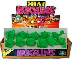 Mini Boglins - Green - 11 Different Types of Mini Figures - Monster in my Pocket My Pocket, Logos, Mini, Green, Cards, Ebay, Map, Logo, Legos