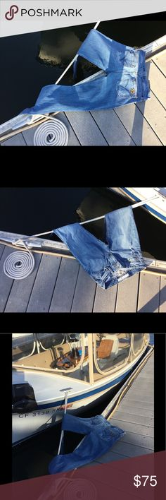 Mojo on the deck Just worn enough to give you the great boho classic look. Joe's Jeans Jeans Boot Cut