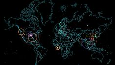 Map Visualizes International Cyber War Happening In Real Time | The Creators Project