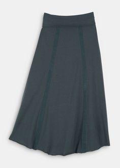Organic Cotton Pocket Maxi Skirt | Rodale's