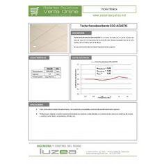Techo ECO-ACUSTIC (0,6 x 0,6 x 0,012 m)