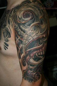 half sleeve tattoos for men | Half - Sleeve Tattoos Pictures and Images : Page 6