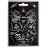 Motorhead Guitar Pick Plectrum Pack X 5 Bad Magic Nue offiziell One Size Hulk Smash, Woodstock, Hogwarts, T-shirt Rock, Minnie Mouse, Heavy Metal, Horror, Punk, Magic