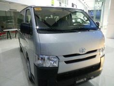"""GOOD FOR BUSINESS MINDED PEOPLE SINCE WE HAVE LOW DOWNPAYMENT PROMO FOR JUNE 2017  RAINY SEASON MADDNESS SALE  NEVER GET WET AGAIN..  TOYOTA HIACE COMMUTER 2017  save up to 80k to 90K save while you drive your new TOYOTA COMMUTER 2017 TODAY....  want to know how to avail this exciting promo and let me help you GET it easy and FAst...  call or txt """"YAN YAN HUERTE"""" FaceBook """" franz Huerte""""  TOYOTA COMMUTER MT DOWNPAYMENT 123,300 MONTHLY 28,621 5YRS  GL GRANDIA 1TON MT DOWNPAYMENT 206,271…"""