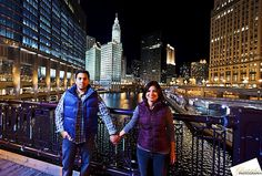 Chicago Engagement Photos - by Christopher|F Photography - www.ChristopherFPhotography.com