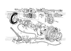 maserati 3500 gt disc rear brakes page 031 order online eurospares